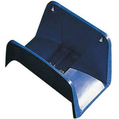 Fali műanyag tömlőtartó kék AG112K