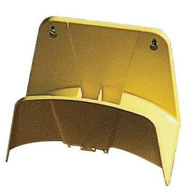 Fali műanyag tömlőtartó sárga AG112S