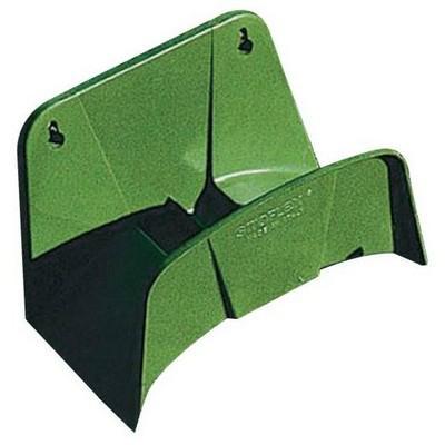 Fali műanyag tömlőtartó zöld AG112Z