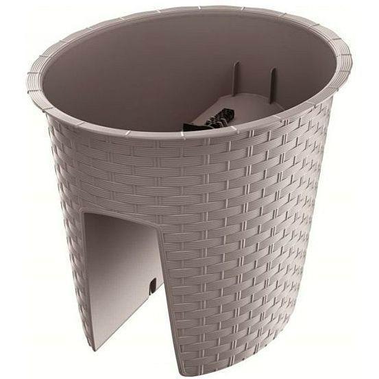 Prosperplast Ratolla DRLB300 ovális korlátláda kávé SP-255444