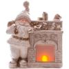 Xecco Télapó kandallóval karácsonyi dekoráció 19105 LED