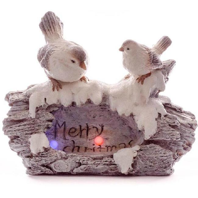Xecco madarak fadarabon karácsonyi dekoráció 19423 LED