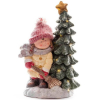Xecco kislány fa mellett karácsonyi dekoráció 1966 LED