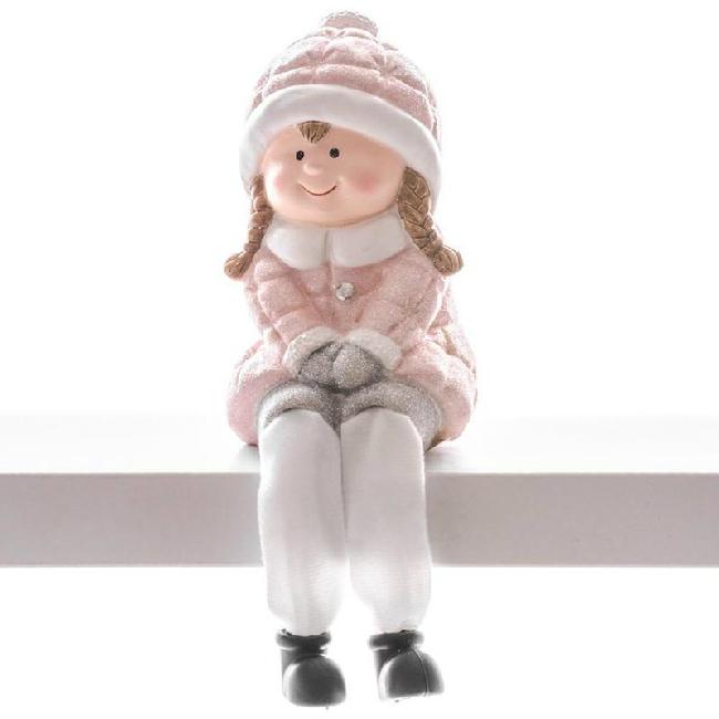 Xecco ülő kislány figura 19356 SP-8090694