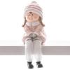 Xecco ülő kislány figura 19356