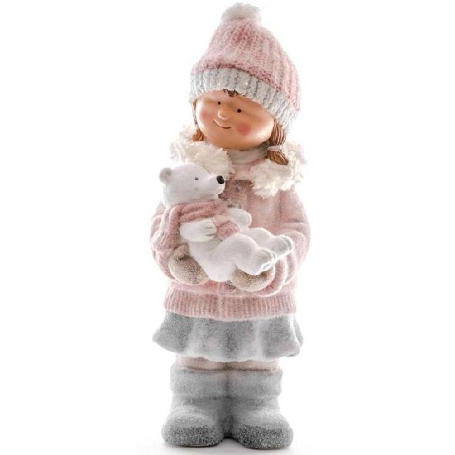 Xecco kislány macival figura 198206 SP-8090699