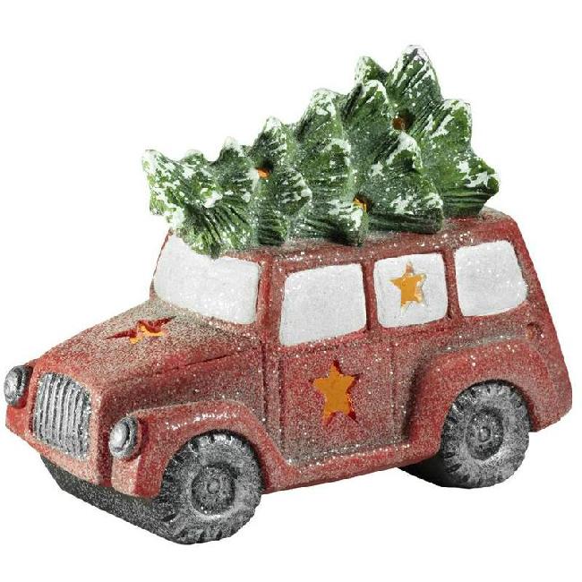 Xecco autó karácsonyfával dekoráció 7523 LED SP-8090325