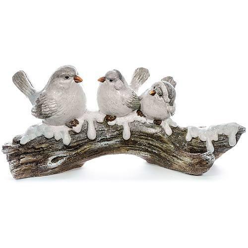 Xecco madarak faágon dekoráció 1686 SP-8090484