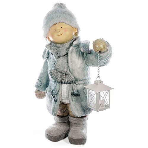 Xecco kisfiú lámpással figura 182029 SP-8090478