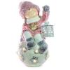 Xecco kislány hógolyón figura 18586 LED