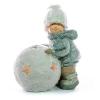 Xecco kislány hólabdával figura 18929 LED