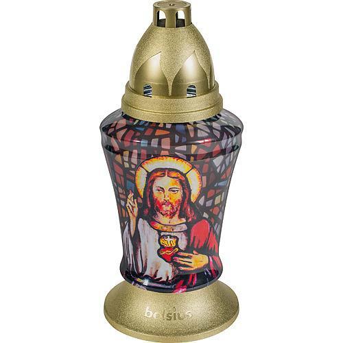 Bolsius kegyeleti mécses 3D Jézus SP-2171430
