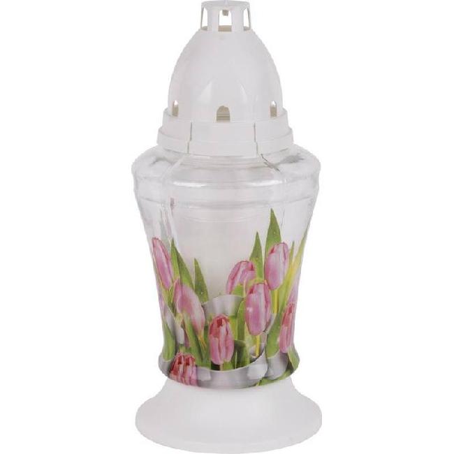 Bolsius kegyeleti mécses New Tulips 3D SP-2171691