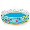 Bestway felfújható gyermekmedence vízi világ mintás 51004