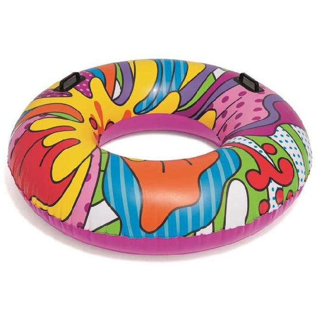 Bestway 36125 felfújható úszógumi POP Art mintás 119 cm SP-8050135