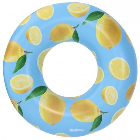 Bestway 36229 felfújható úszógumi citrom mintás 119 cm SP-8050220
