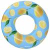 Bestway 36229 felfújható kerek úszógumi citrom mintás 119 cm