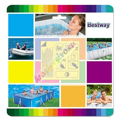 Bestway 62091 javítókészlet 10 db tapasz SP-8050072