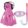 Bestway Hydro-Swim Freestyle Snorkel gyerek búvár szett rózsaszín SP-8050096