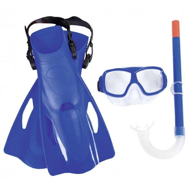 Bestway Hydro-Swim Freestyle Snorkel gyerek búvár szett kék SP-8050096