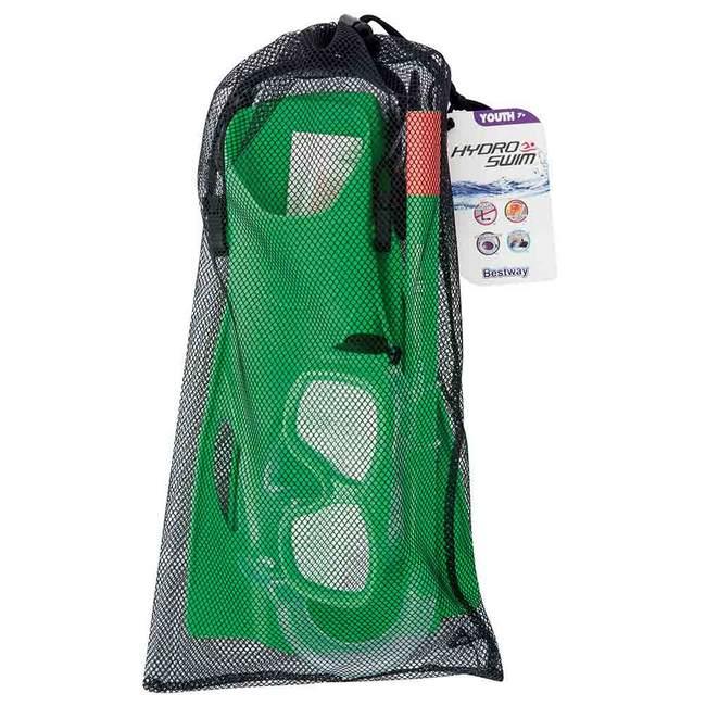 Bestway Hydro-Swim Freestyle Snorkel gyerek búvár szett zöld csomag