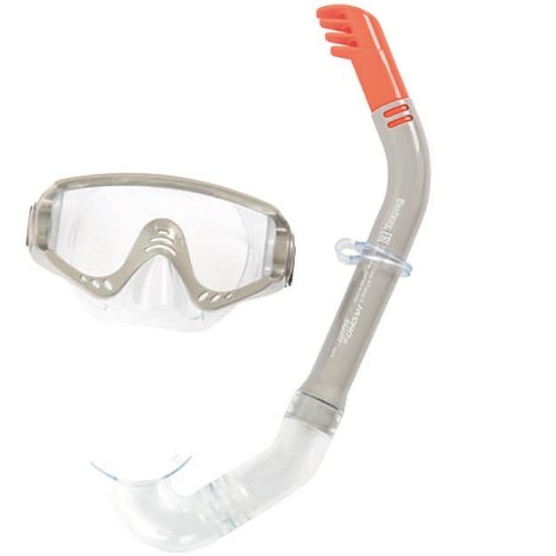 Bestway Hydro-Swim Secret Bay Snorkel gyerek búvár szett szürke SP-8050147