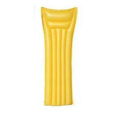 Bestway felfújhajtó matrac 44007 sárga 183 cm
