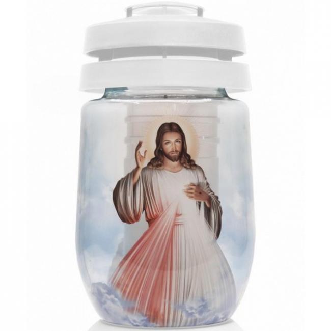 Bolsius kegyeleti mécses 3D Jézus SP-2174322