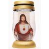 Bolsius kegyeleti mécses S12 3D Jézus