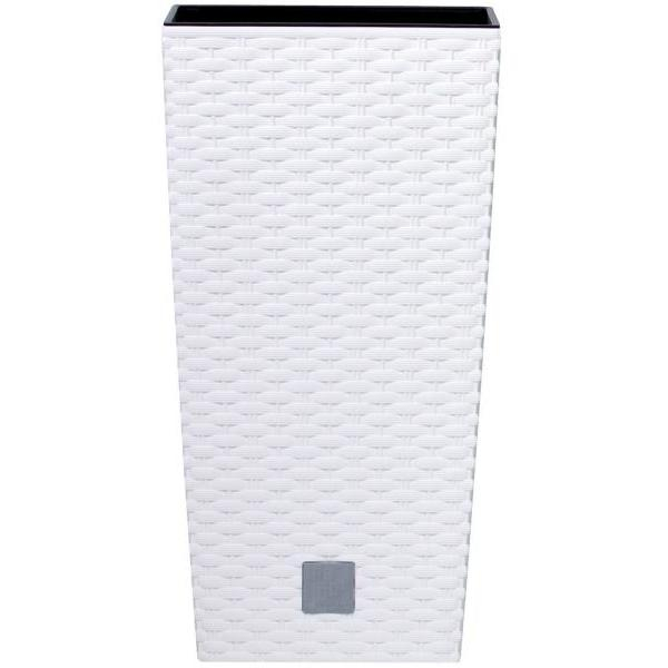 Prosperplast Rato Square 225 virágcserép fehér SP-255329
