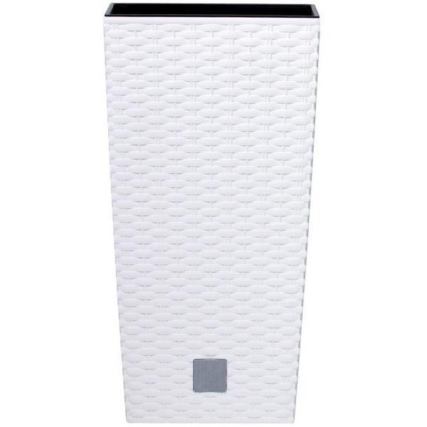 Prosperplast Rato Square 325 virágcserép fehér SP-255333