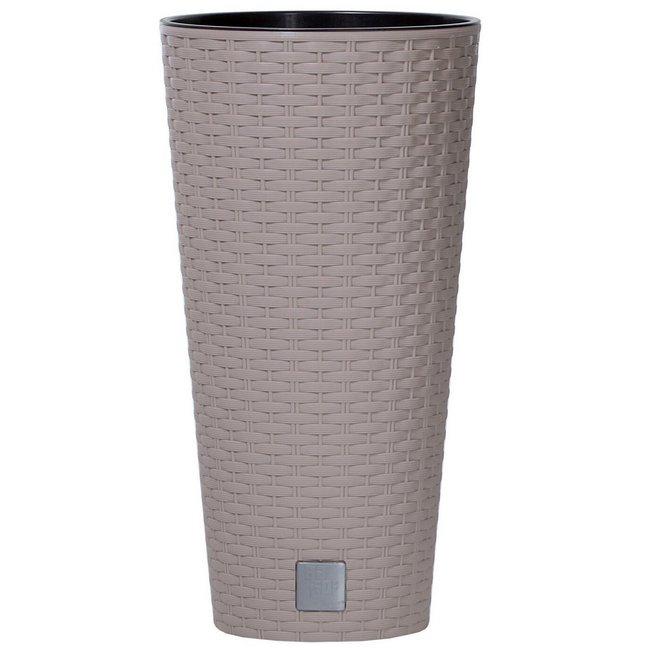 Prosperplast Rato Tubus DRTUS400 virágcserép kávé SP-255316