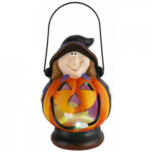Xecco Halloween LED töklámpás varázslóval 8282 SP-8091207