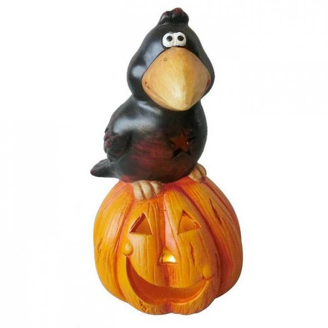 Xecco Halloween töklámpás hollóval 2313 SP-8090687