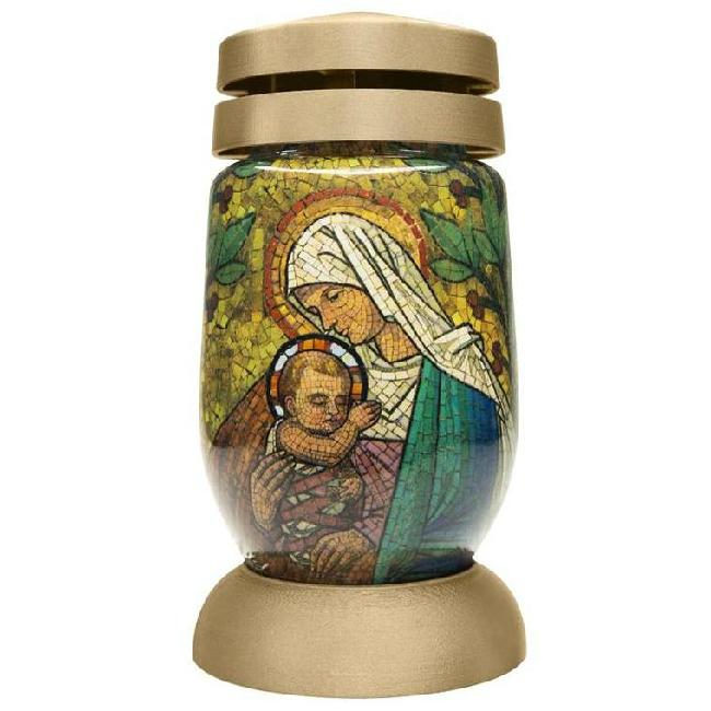 Bolsius kegyeleti mécses S03 3D Mária és Jézus SP-2171788