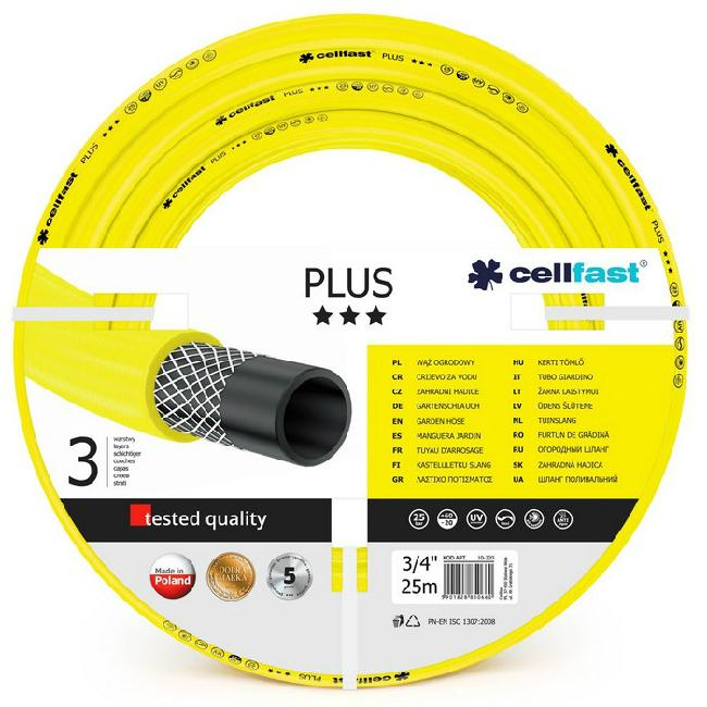 Cellfast PLUS tömlő 3/4 col 25 m sárga SP-256444