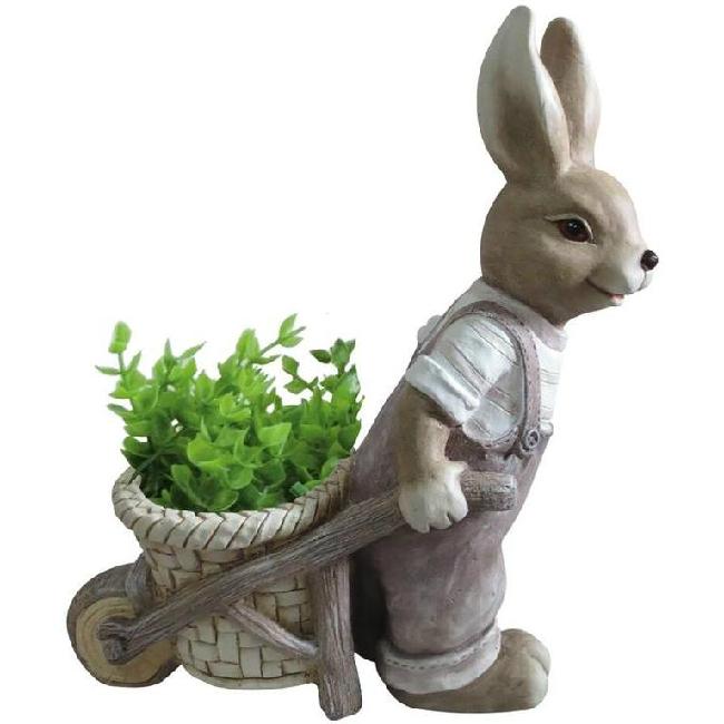 Gecco nyuszi talicskával húsvéti dísz 8666 SP-8090621