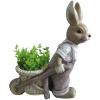 Gecco nyuszi talicskával húsvéti dísz 8666