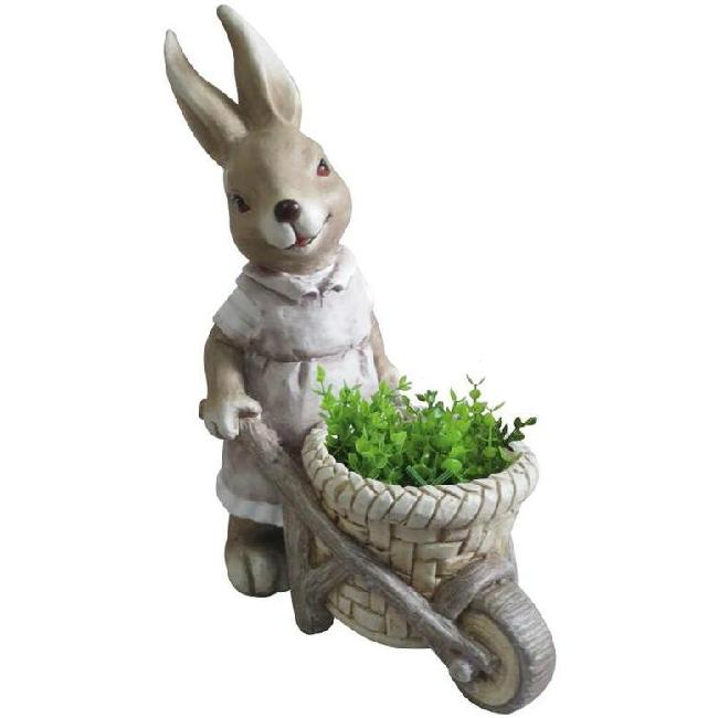 Gecco nyuszi talicskával húsvéti dísz 8667 SP-8090622