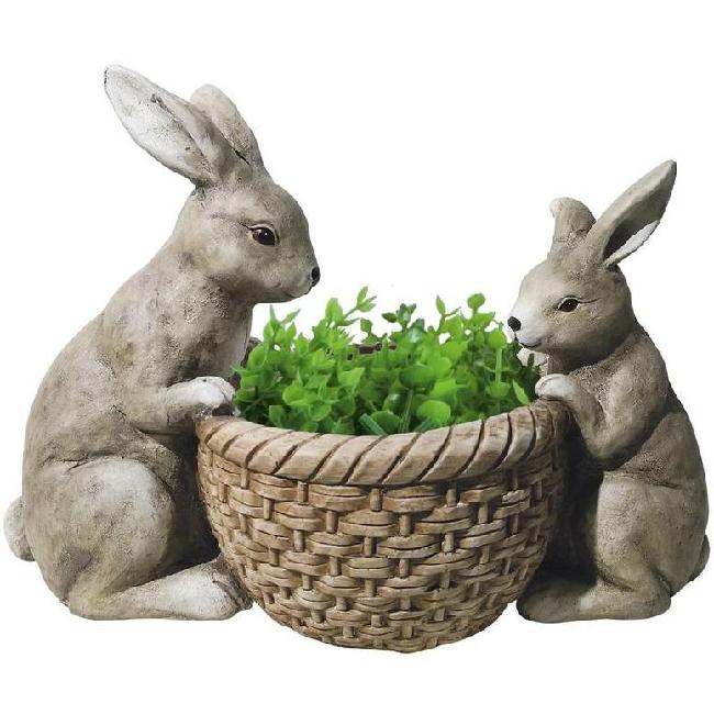 Gecco nyuszik kosárkával húsvéti dísz 8612 SP-8090624