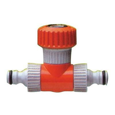 Siroflex tömlővéges 2 kuplungos T elágazó 3/4 col 4491