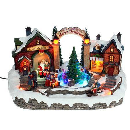 Xecco karácsonyi falu dekoráció 2003 LED SP-8090291