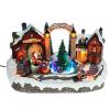 Xecco karácsonyi falu dekoráció 2003 LED