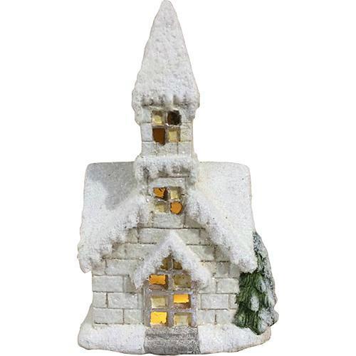 Xecco karácsonyi templom dekoráció 7102 LED SP-8090326
