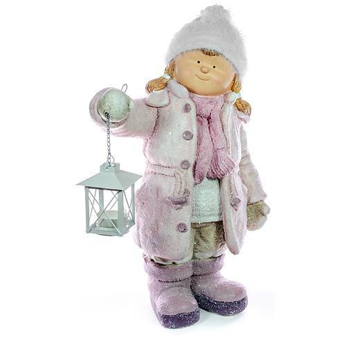 Xecco kislány lámpással figura 182031 SP-8090479