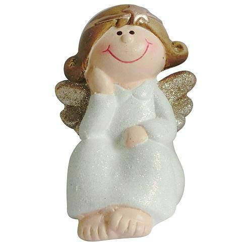 Xecco ülő angyalka figura 12652 SP-8090488
